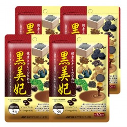 【お得】黒美妃(4袋)360粒入・約120日分