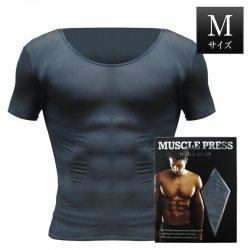 MONOVO マッスルプレス[グレー][Mサイズ](1枚)身長:165〜175cm、胸囲:88〜96cm