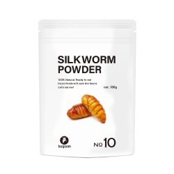 SILKWORM POWDER【No.10】(1袋)100g